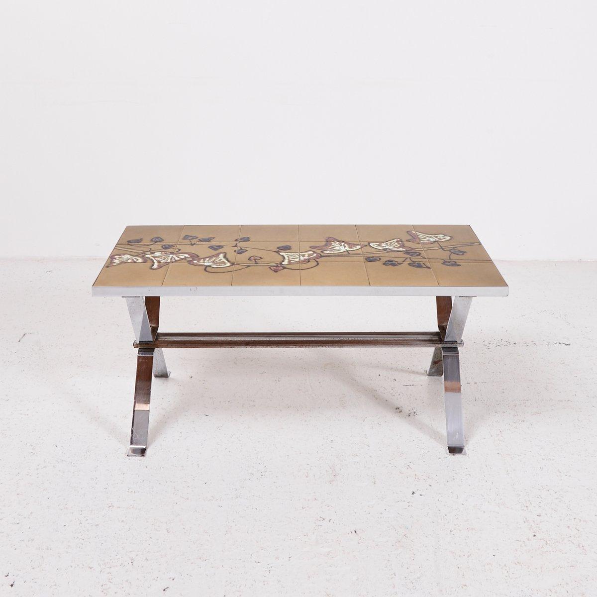 Vintage couchtisch mit mosaik tischplatte bei pamono kaufen for Couchtisch vintage