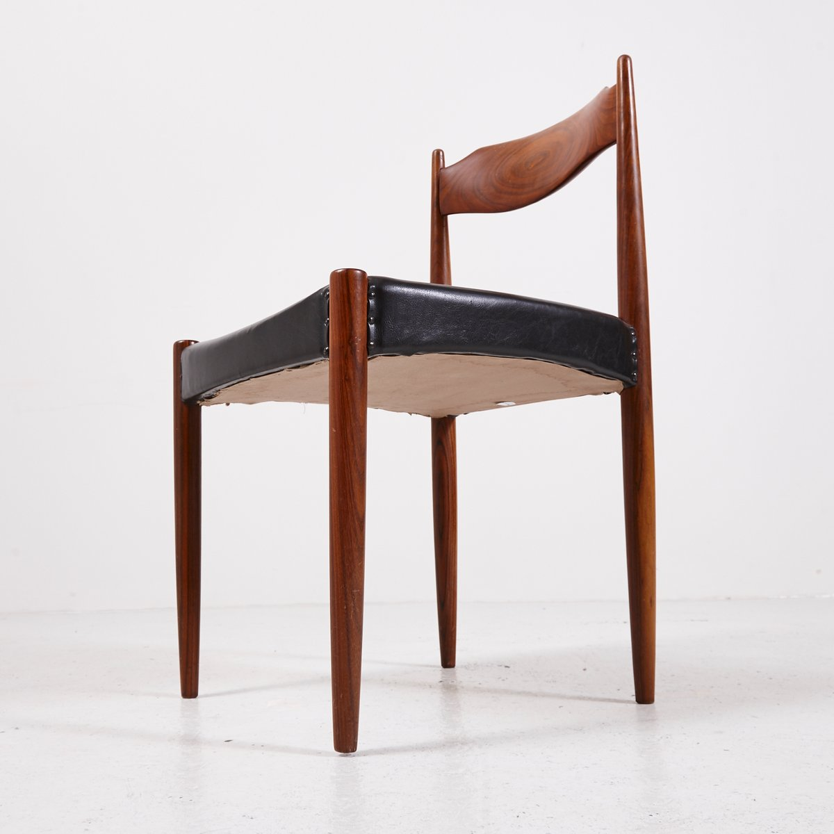 Danish rosewood dining chairs set of for sale at pamono