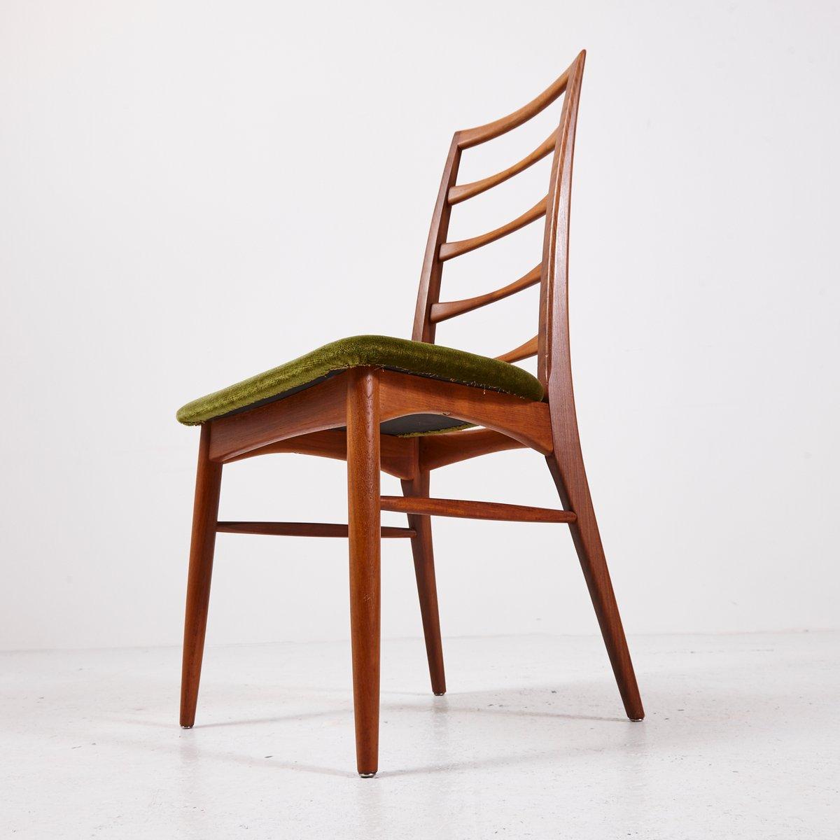 vintage liz st hle von niels koefoed f r hornslet. Black Bedroom Furniture Sets. Home Design Ideas
