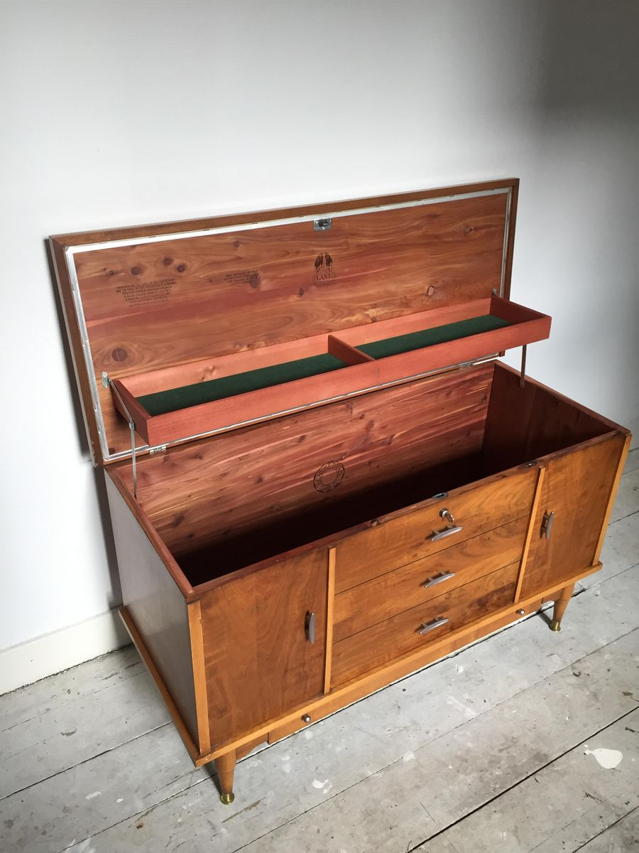 Cedar Hope Chest From Lane Altavista Furniture 1957 For Sale At Pamono