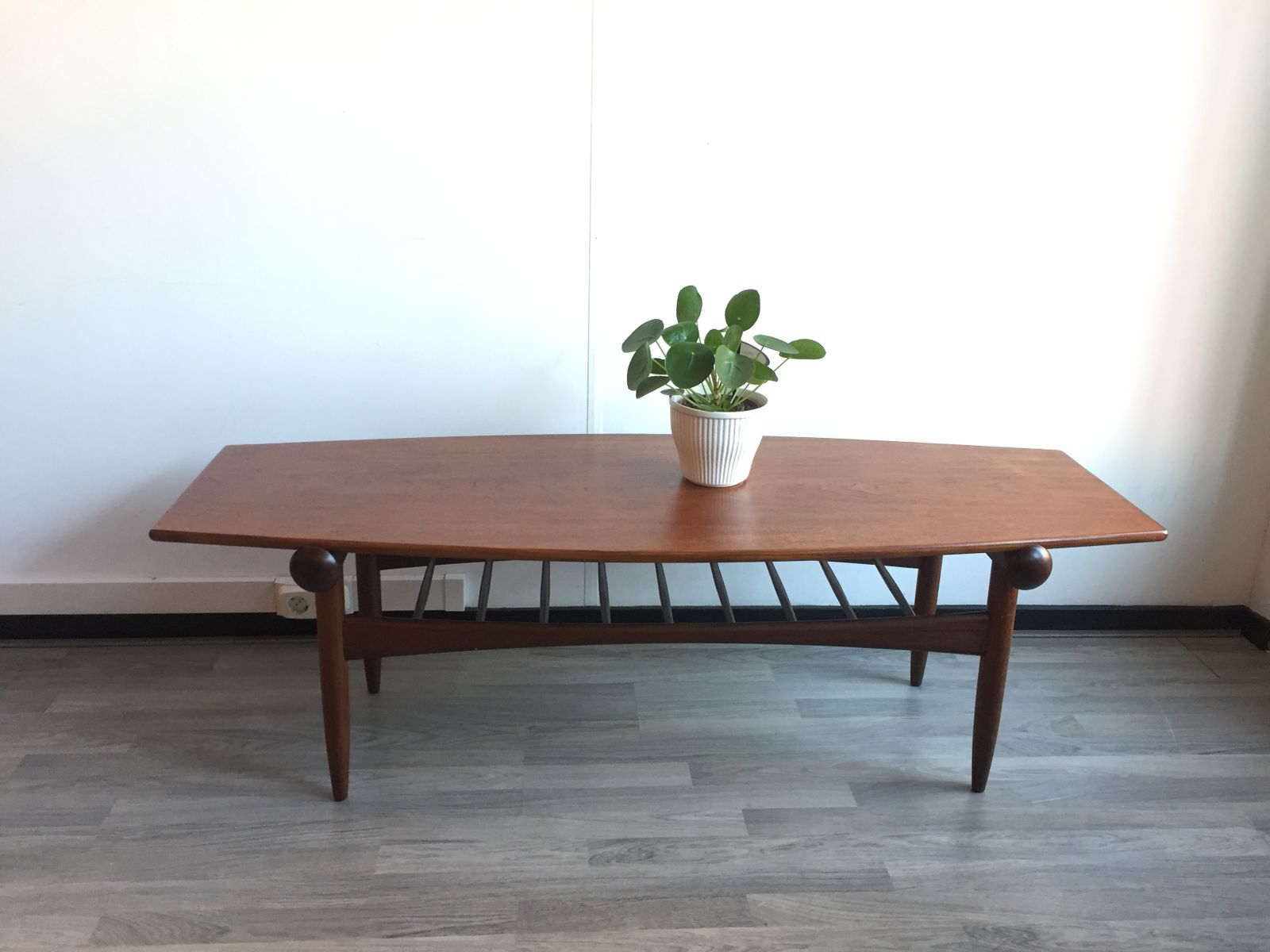 Vintage Reversible Teak & Formica Coffee Table 1960s for sale at