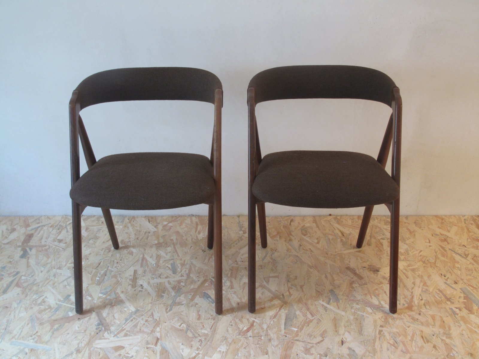 Dining chairs by kai kristiansen 1960s set of 2 for sale at pamono - Kai kristiansen chairs ...