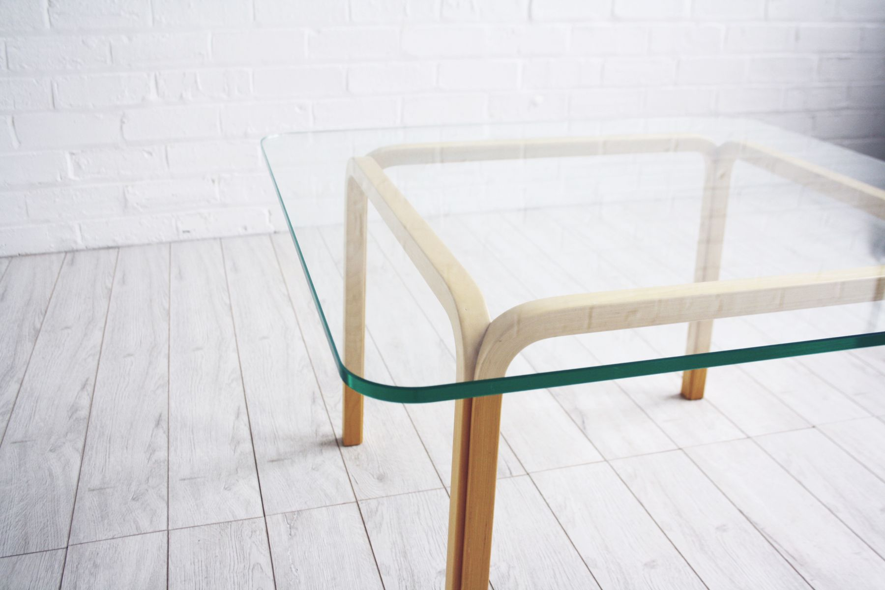 Square Coffee Table By Alvar Aalto For Artek For Sale At Pamono