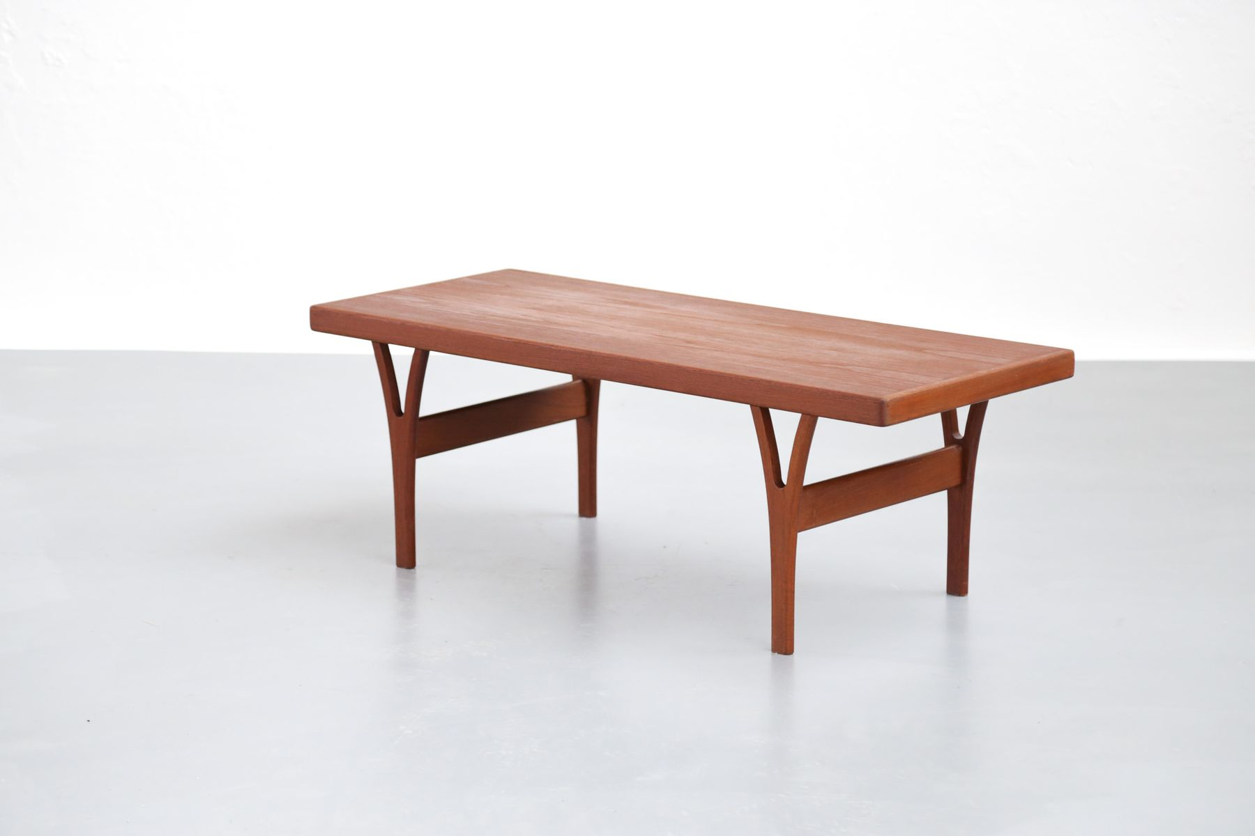 vintage danish coffee table in teak, 1960s for sale at pamono