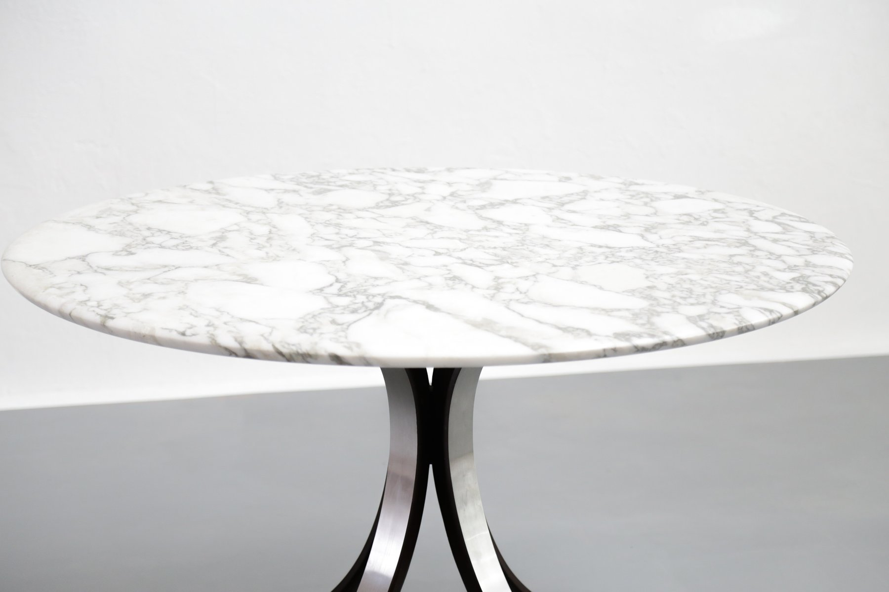 vintage carrara marble dining table by osvaldo borsani for tecno for sale at pamono. Black Bedroom Furniture Sets. Home Design Ideas