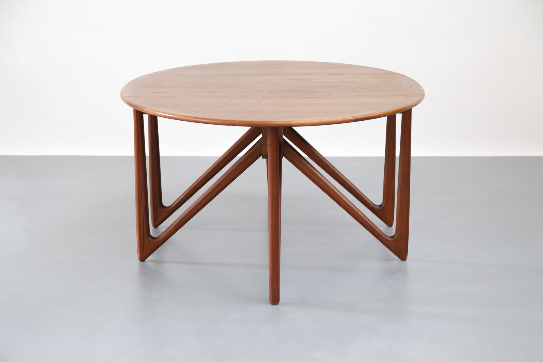 Mid Century Danish Dining Table By Kurt Stervig For Jason