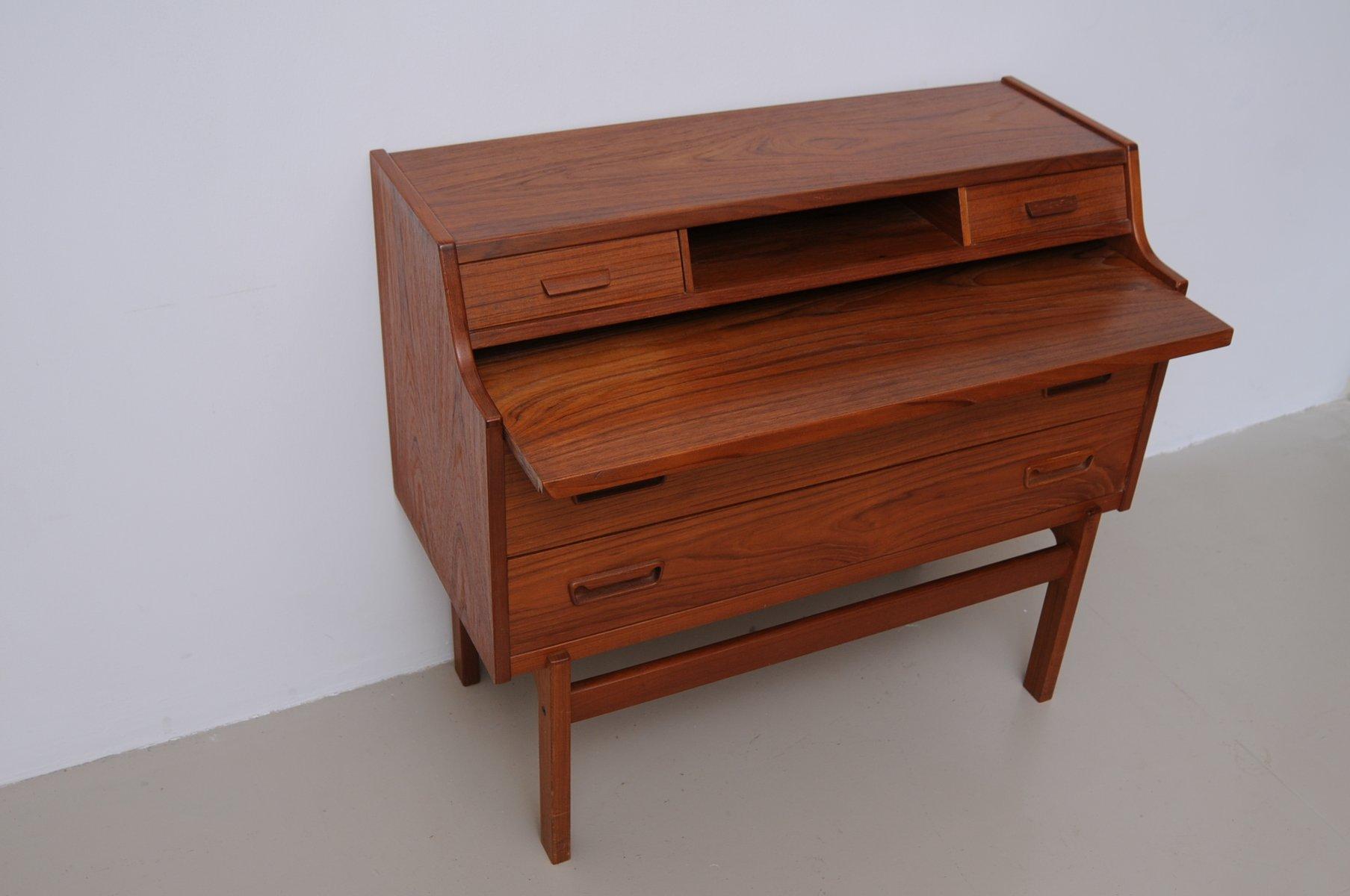 mid century teak sekret r von arne wahl iversen f r vinde m belfabrik bei pamono kaufen. Black Bedroom Furniture Sets. Home Design Ideas