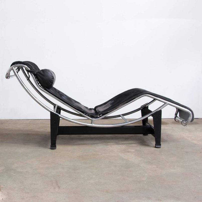 LC 4 Chaise Longue by Le Corbusier for Cassina 1930s : chaise lounge corbusier - Sectionals, Sofas & Couches