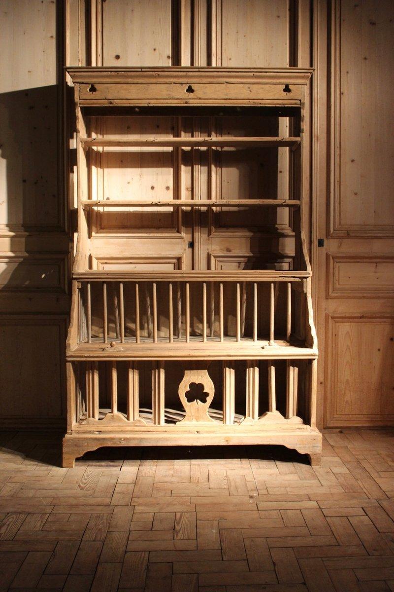 antiker irischer k chenschrank bei pamono kaufen. Black Bedroom Furniture Sets. Home Design Ideas
