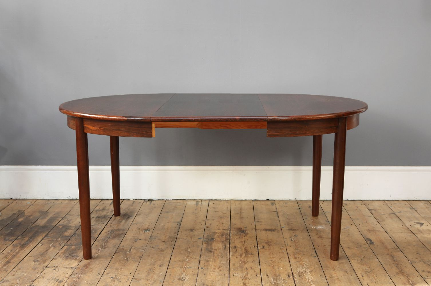 round danish rosewood dining table 1960s for sale at pamono