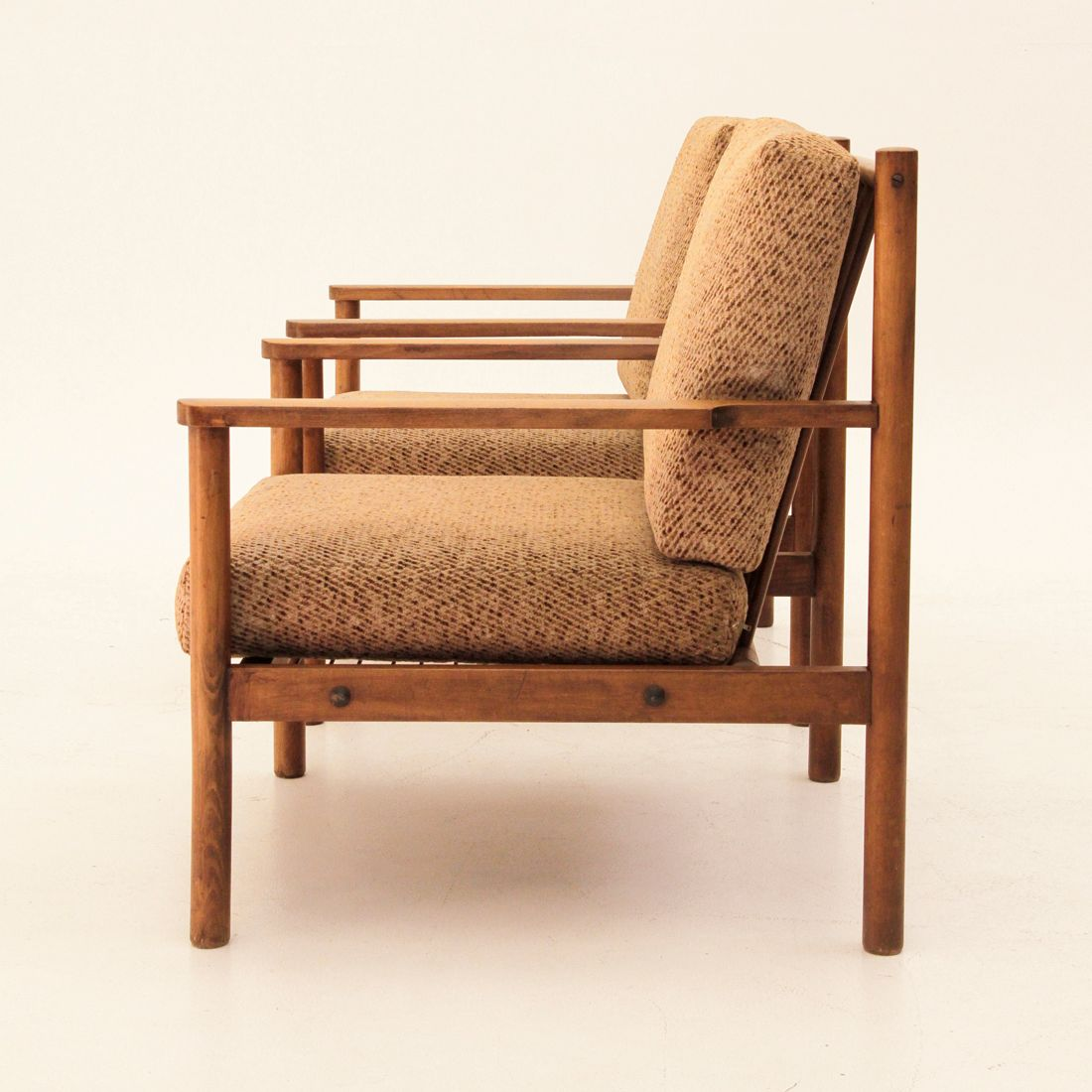 Italian wooden armchairs 1960s set of 2 for sale at pamono for 2 armchairs for sale