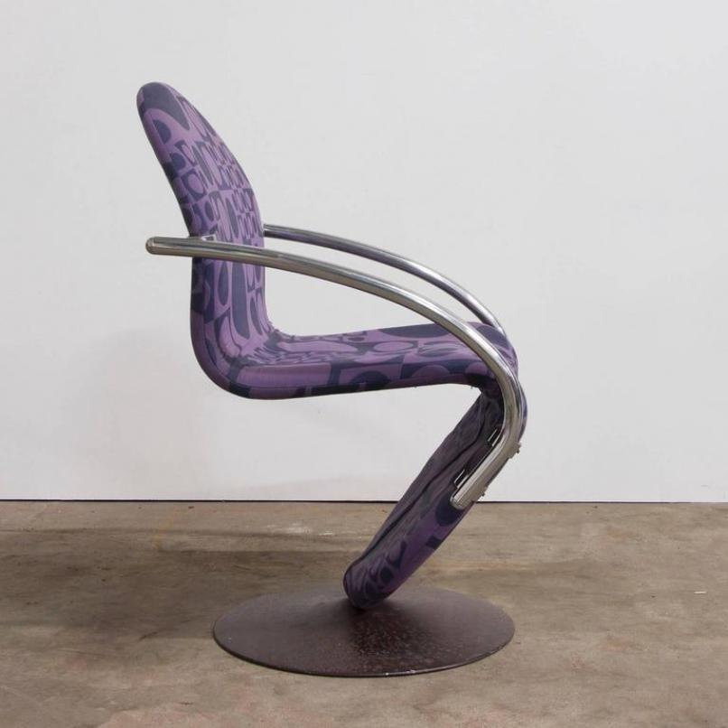stuhl von verner panton f r rosenthal 1970er bei pamono kaufen. Black Bedroom Furniture Sets. Home Design Ideas