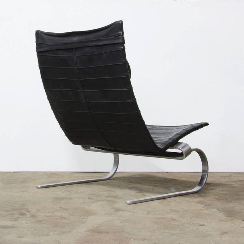 Vintage PK 20 Rocking Chair By Poul Kjaerholm For E. Kold Christensen