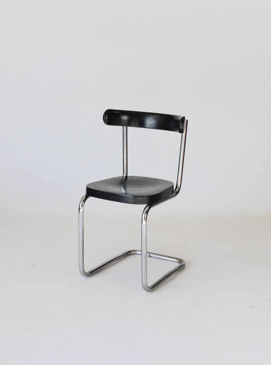 b 263 cantilever chair by mart stam for thonet 1930s for. Black Bedroom Furniture Sets. Home Design Ideas