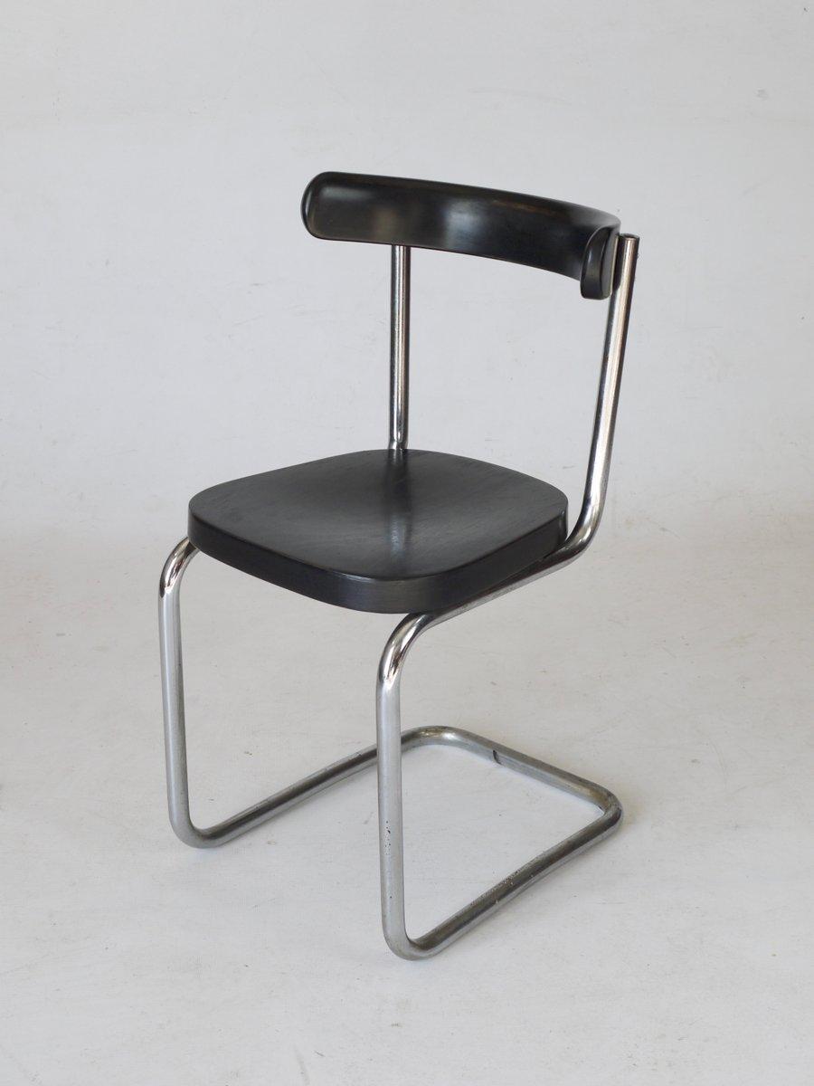 b 263 freischwinger stuhl von mart stam f r thonet 1930er bei pamono kaufen. Black Bedroom Furniture Sets. Home Design Ideas