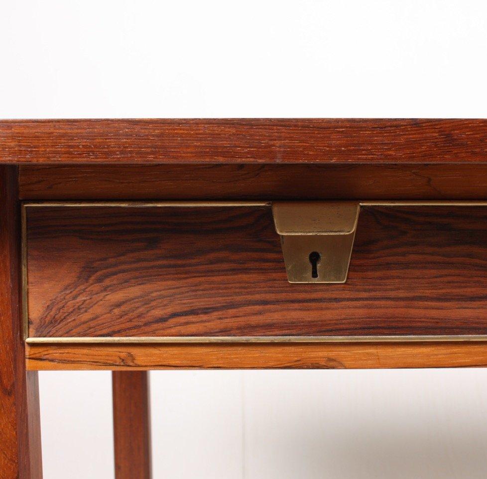 d nischer palisander tischler schreibtisch 1960er bei. Black Bedroom Furniture Sets. Home Design Ideas