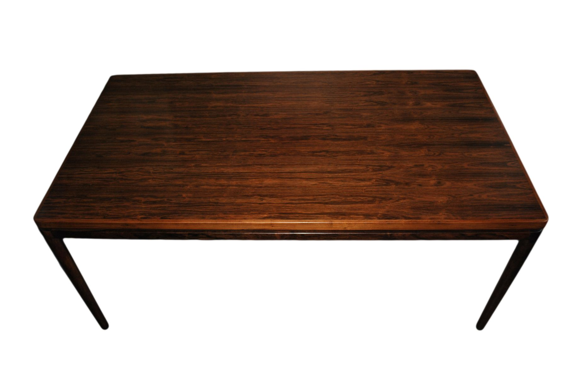 Rosewood Dining Table Mid Century Rosewood Dining Table By Johannes Andersen For