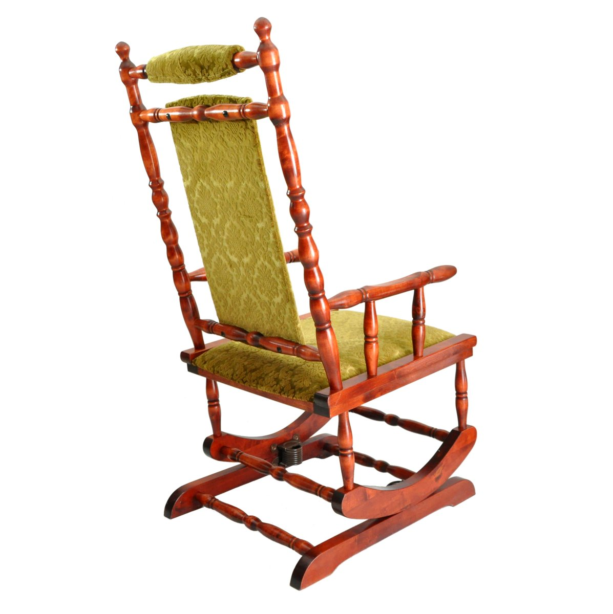 Scandinavian wooden rocking chair 1950s for sale at pamono for Schaukelstuhl outdoor holz