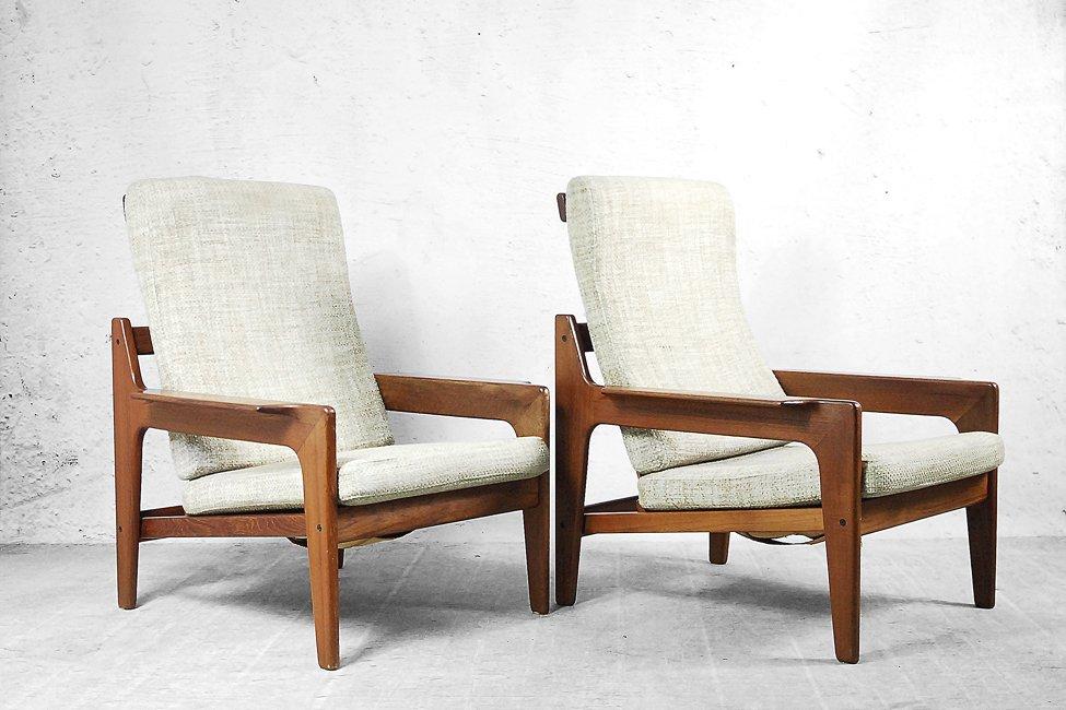 teak living room furniture. Price per set Danish Teak Living Room Set by Arne Wahl Iversen for Komfort