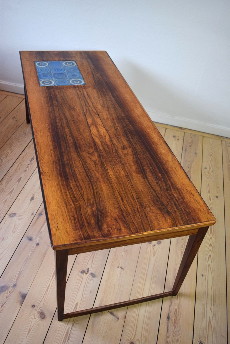Danish Rosewood Coffee Table 1960s