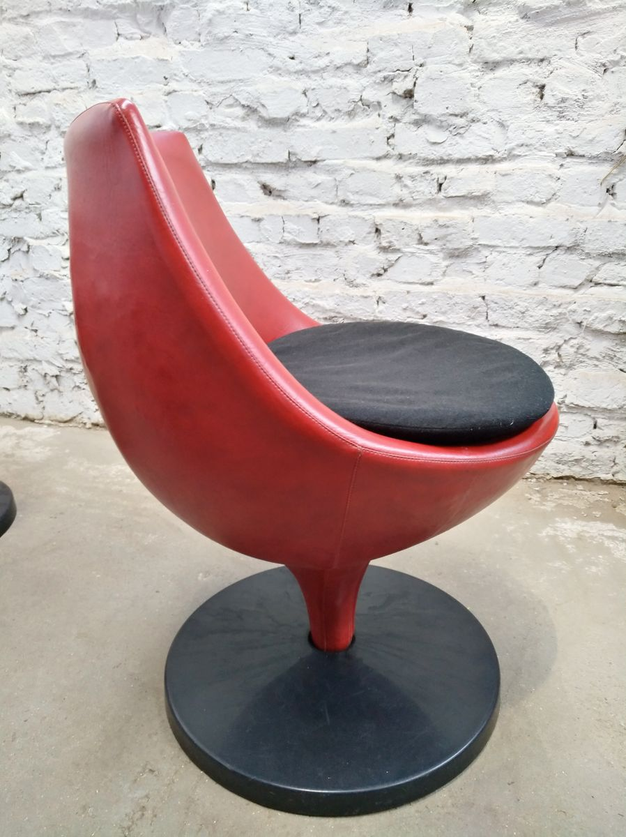 Vintage polaris f960 tulip chairs by pierre guariche for meurop set of 6 for sale at pamono - Tulip chairs for sale ...