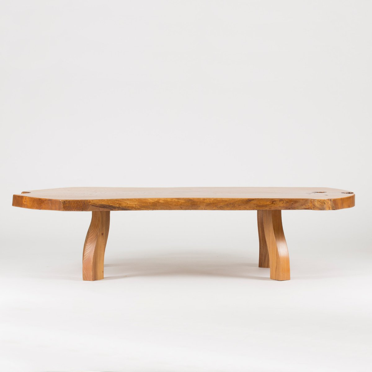 pine slab coffee tablec.a. beijbom, 1960s for sale at pamono