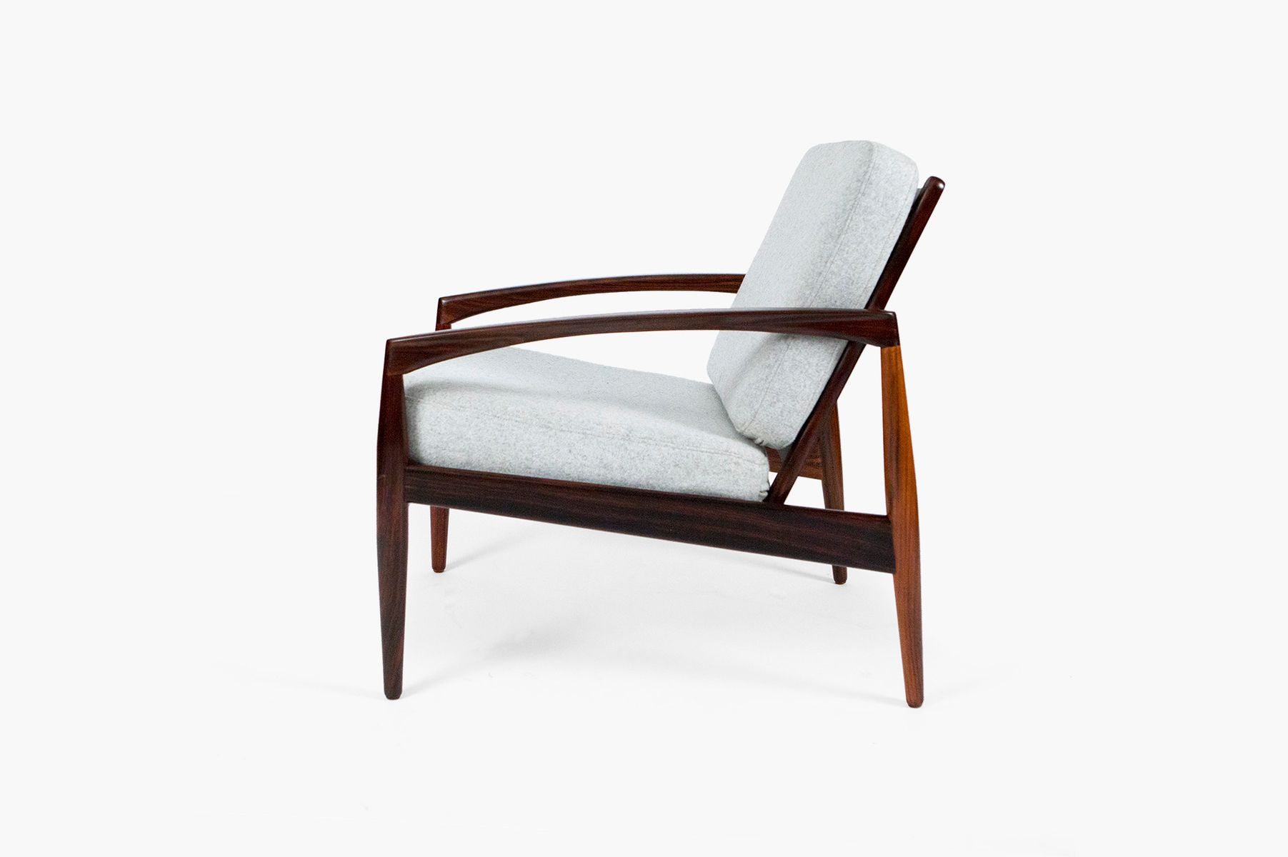 Paper Knife Lounge Chair By Kai Kristiansen For Magnus Olesen 1950s For Sale At Pamono