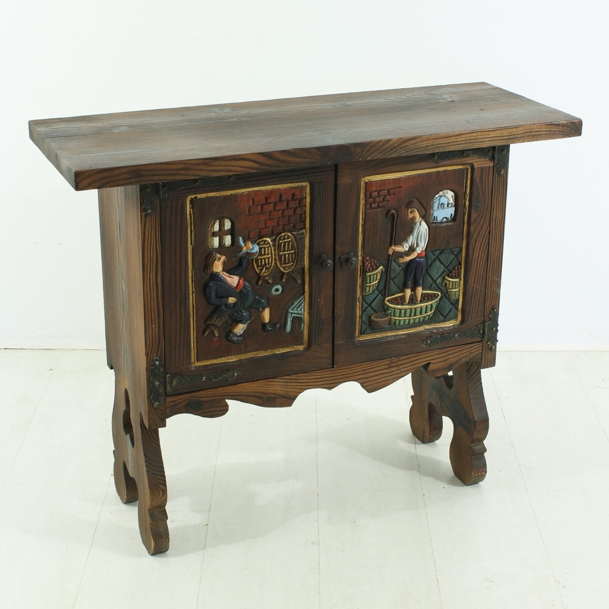 Small rural side cabinet 1930s for sale at pamono for 1930s kitchen cabinets for sale