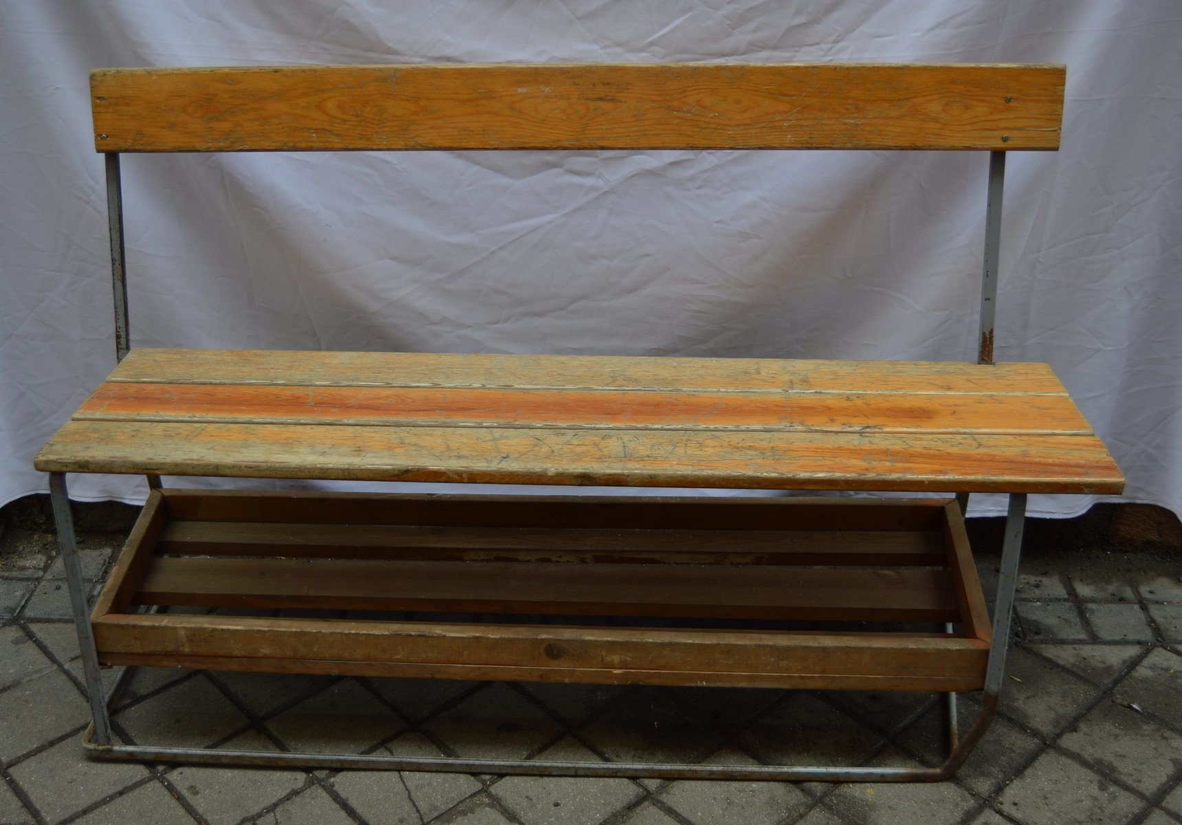 100+ [ Vintage Wood Benches For Sale ] | Vanities Antique ...