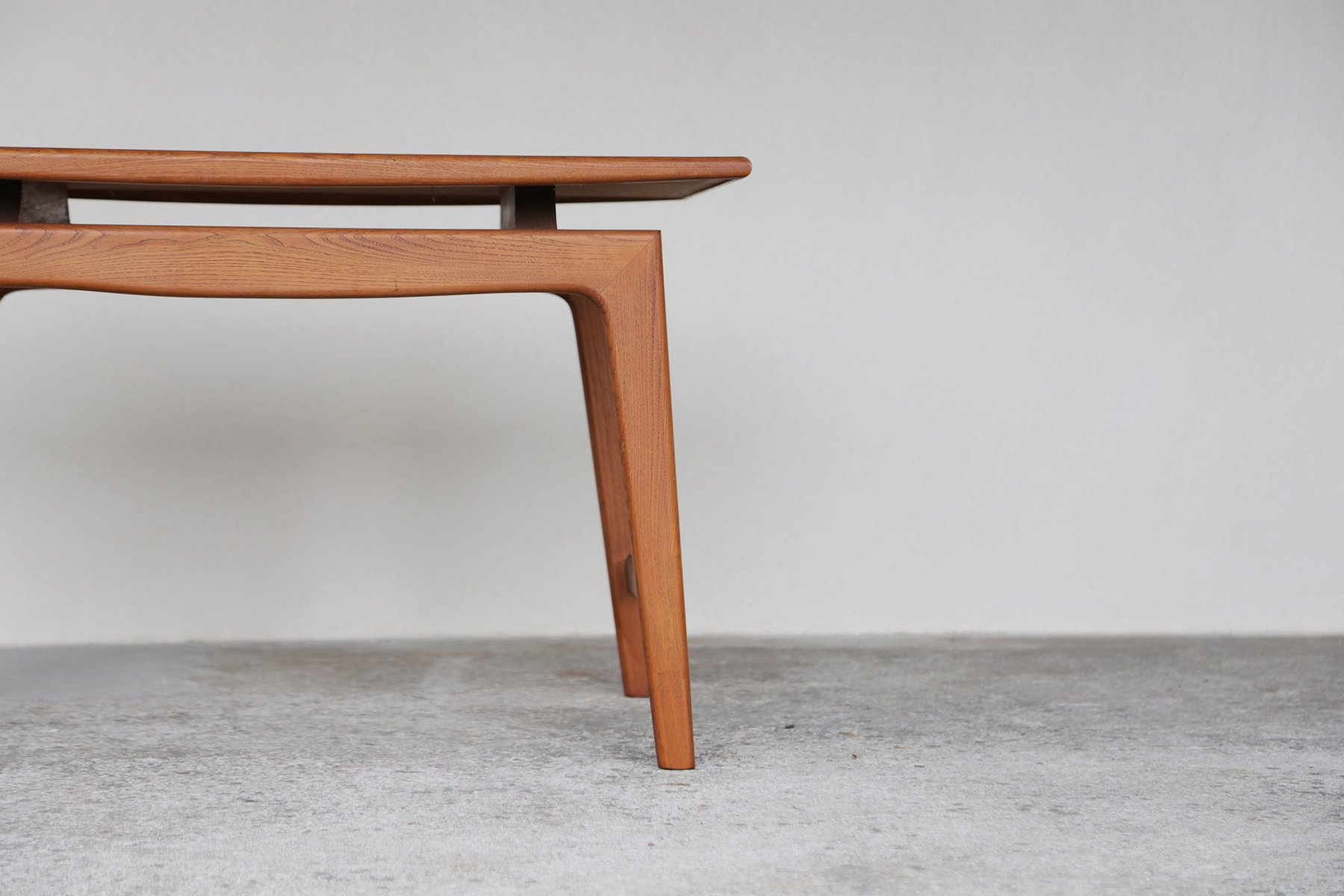 Scandinavian teak coffee table 1960s for sale at pamono for Teak coffee table