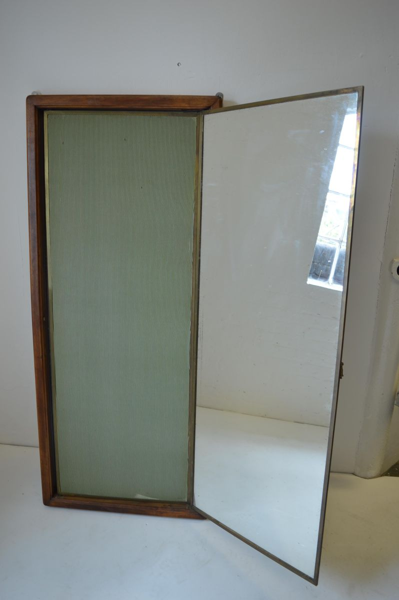 Oak triptych tailor 39 s mirror from miroir brot 1930s for for Miroir collable