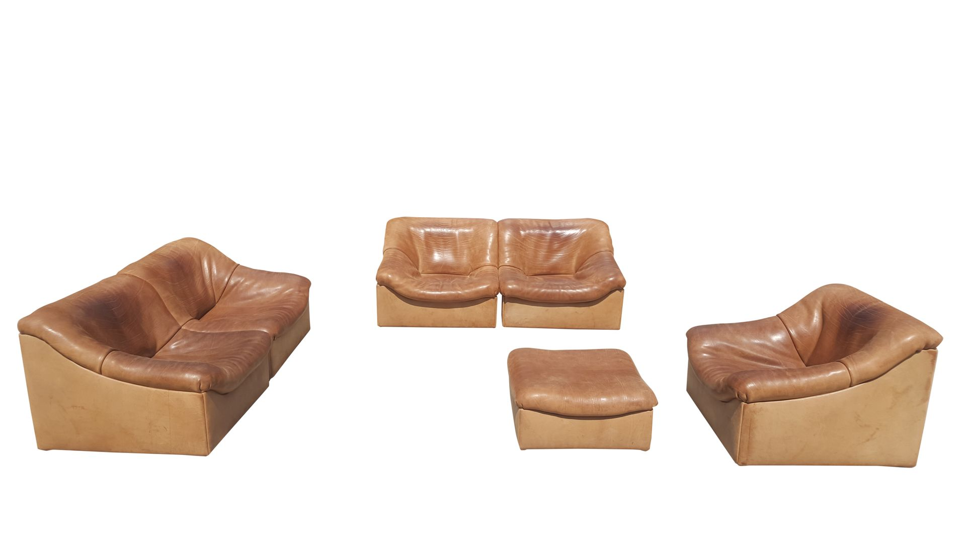 DS 46 Modular Sofa Set from de Sede 1970s for sale at Pamono