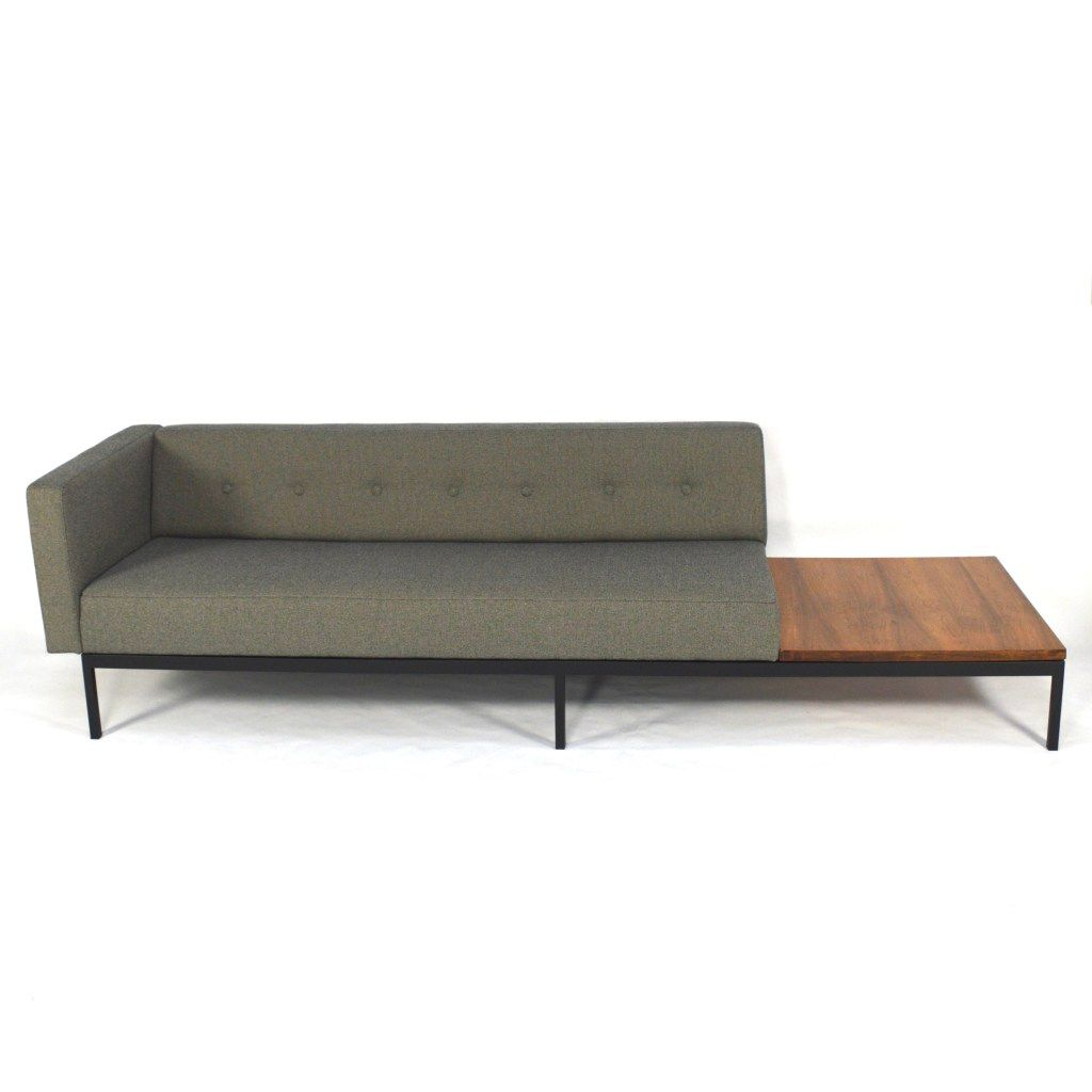 mid century 070 series sofa with rosewood coffee table by kho liang ie for artifort 1960s