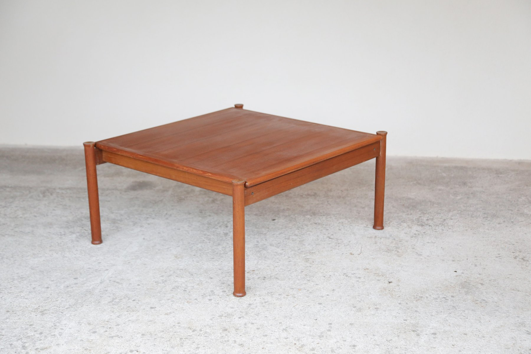 Vintage Scandinavian Teak Coffee Table For Sale At Pamono
