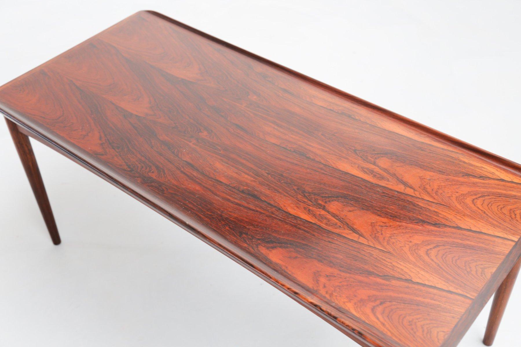 table basse en palissandre de rio danemark en vente sur. Black Bedroom Furniture Sets. Home Design Ideas