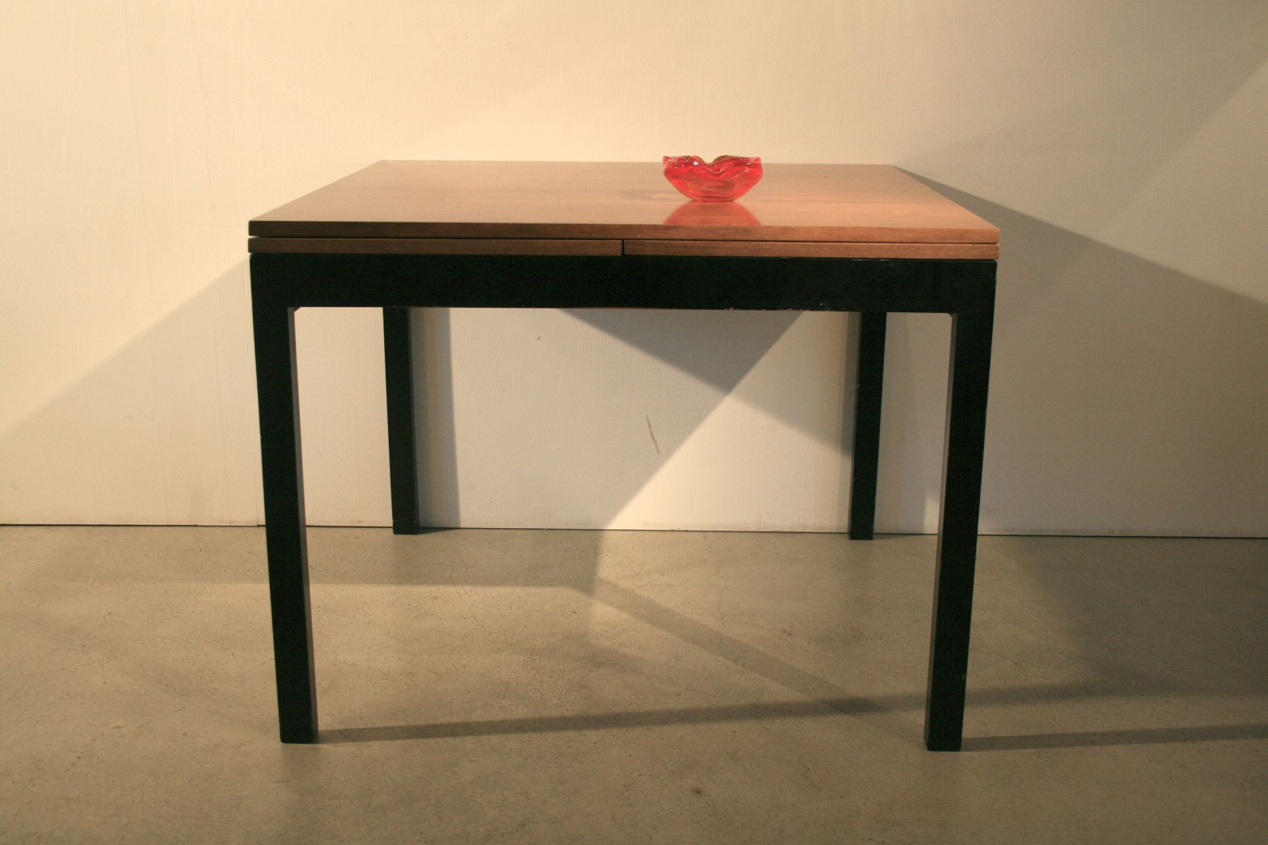 midcentury square extendable table by willy guhl for sale at pamono -