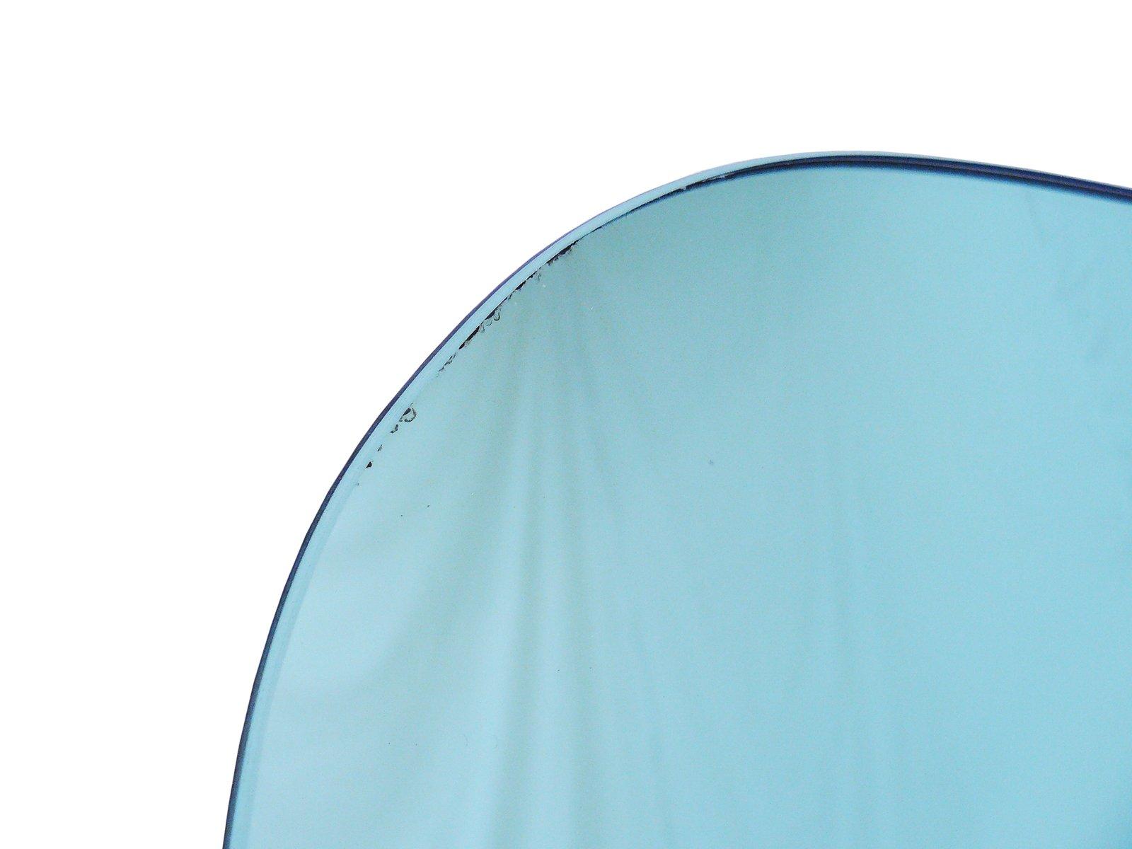 italienischer badezimmerspiegel mit lampen von mazzega. Black Bedroom Furniture Sets. Home Design Ideas