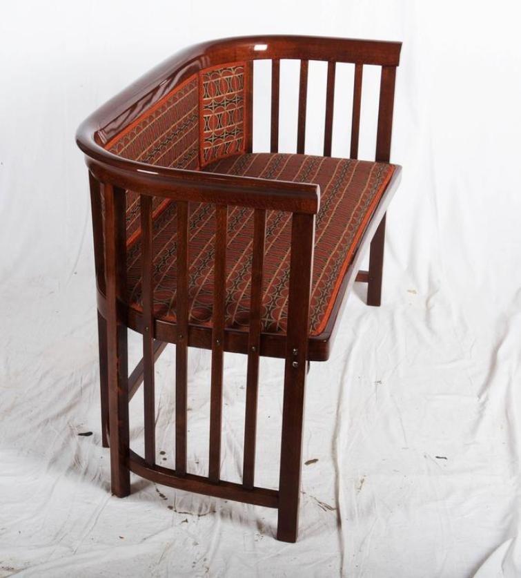 Divano Antico Legno : Divano antico in legno curvato di josef hoffmann per
