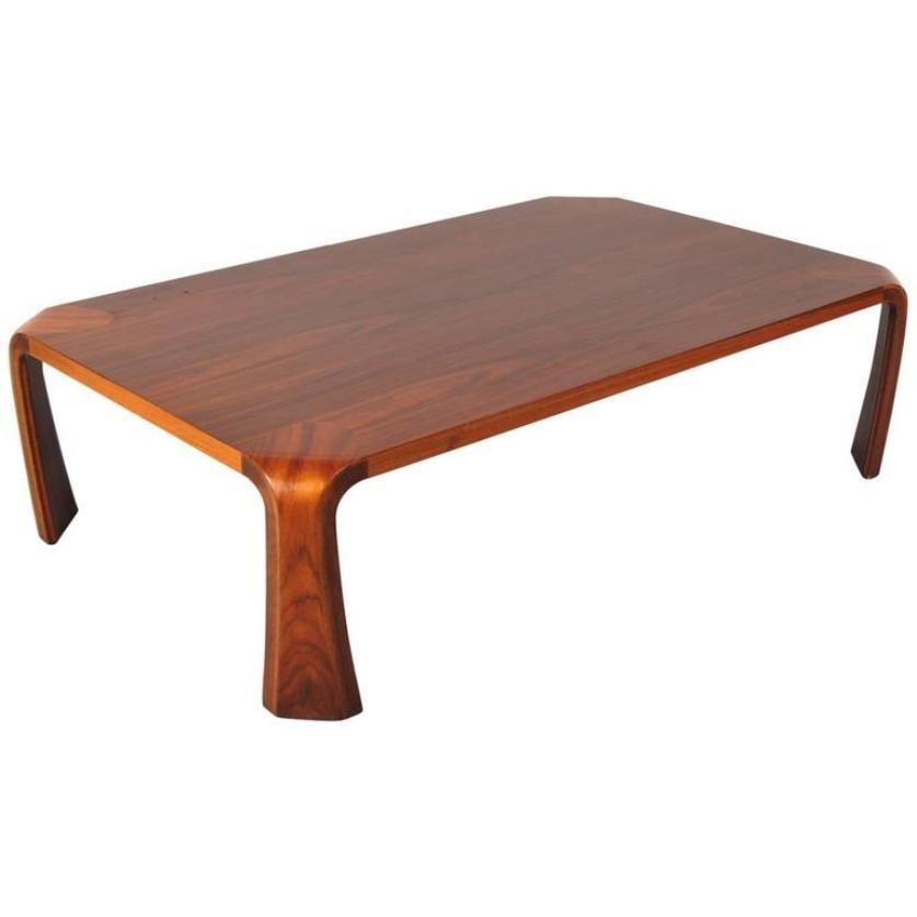 Japanese Coffee Table By Saburo Inui For Tendo 1960s