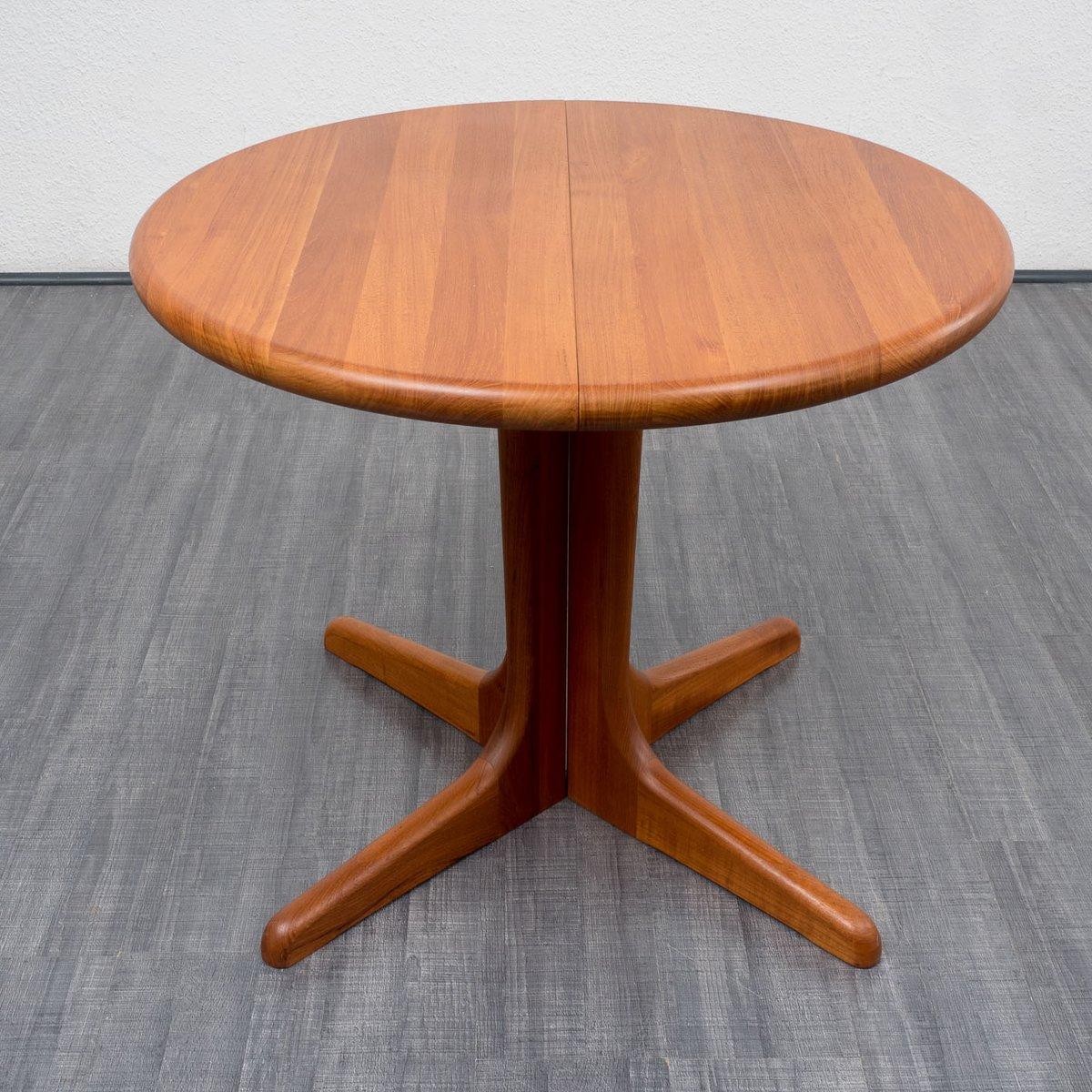 model 177 teak dining table by niels koefoed for koefoed 196
