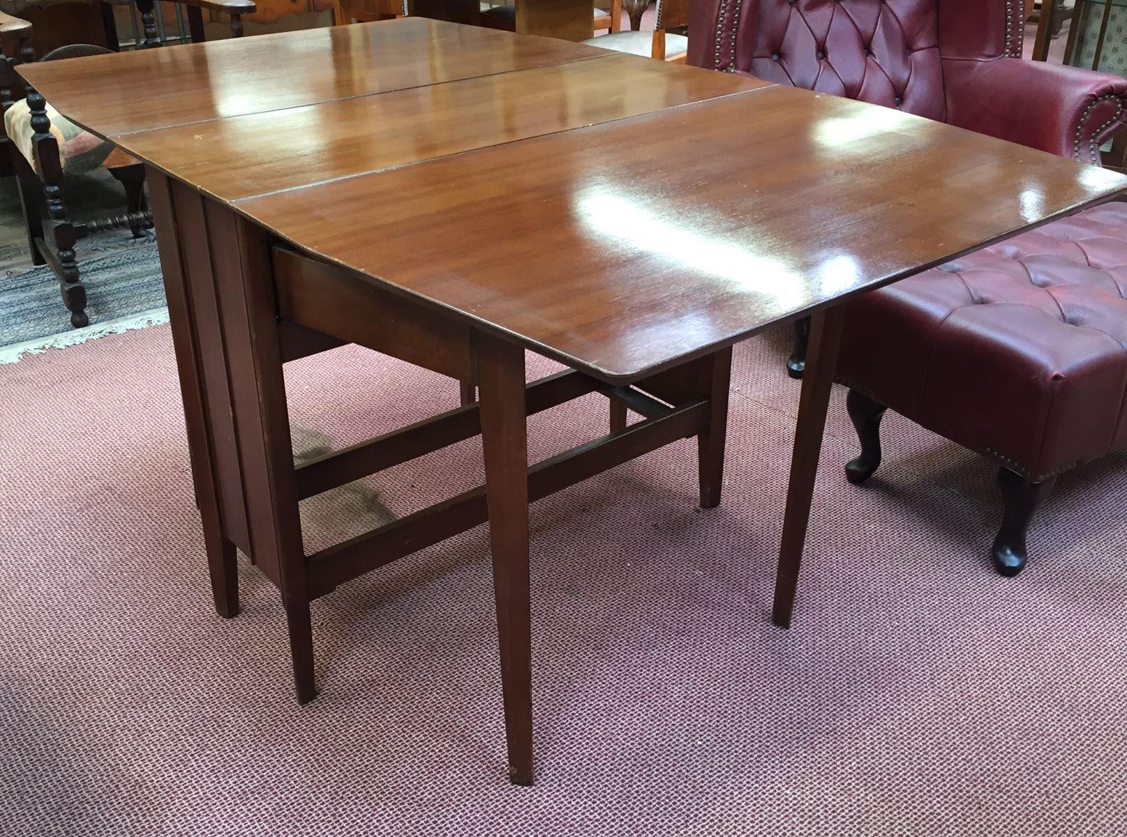 Walnut Gateleg Table 1970s for sale at Pamono