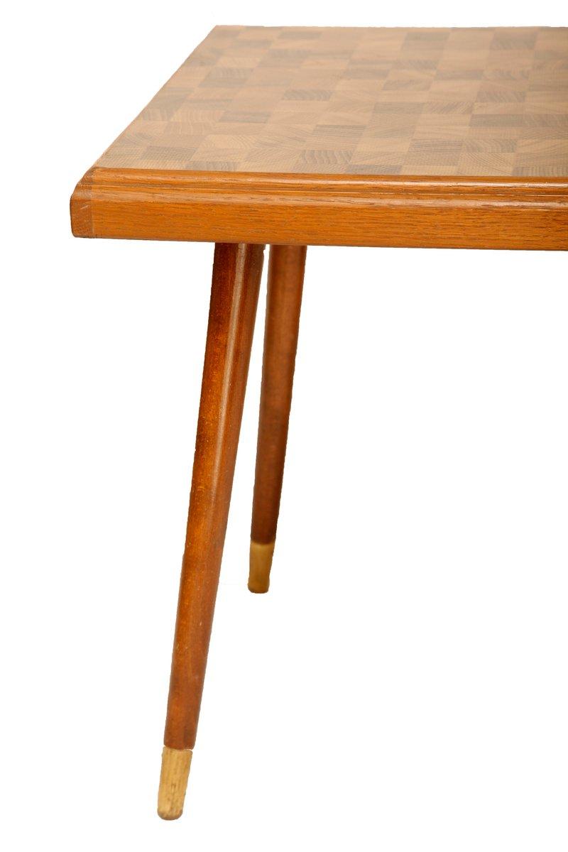 kleiner eichenholz tisch 1960er bei pamono kaufen. Black Bedroom Furniture Sets. Home Design Ideas