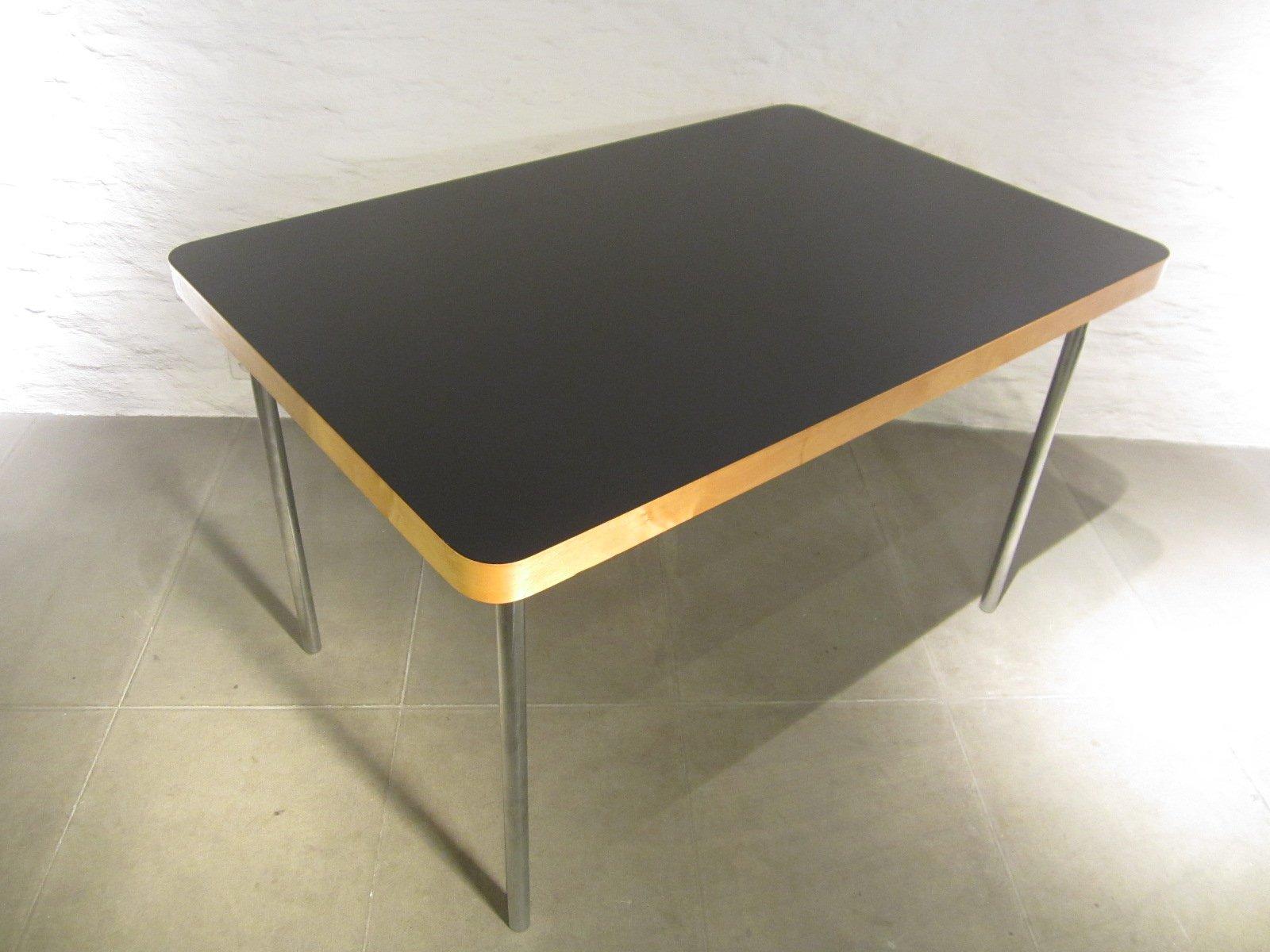 kleiner vintage esstisch von marcel breuer f r embru. Black Bedroom Furniture Sets. Home Design Ideas