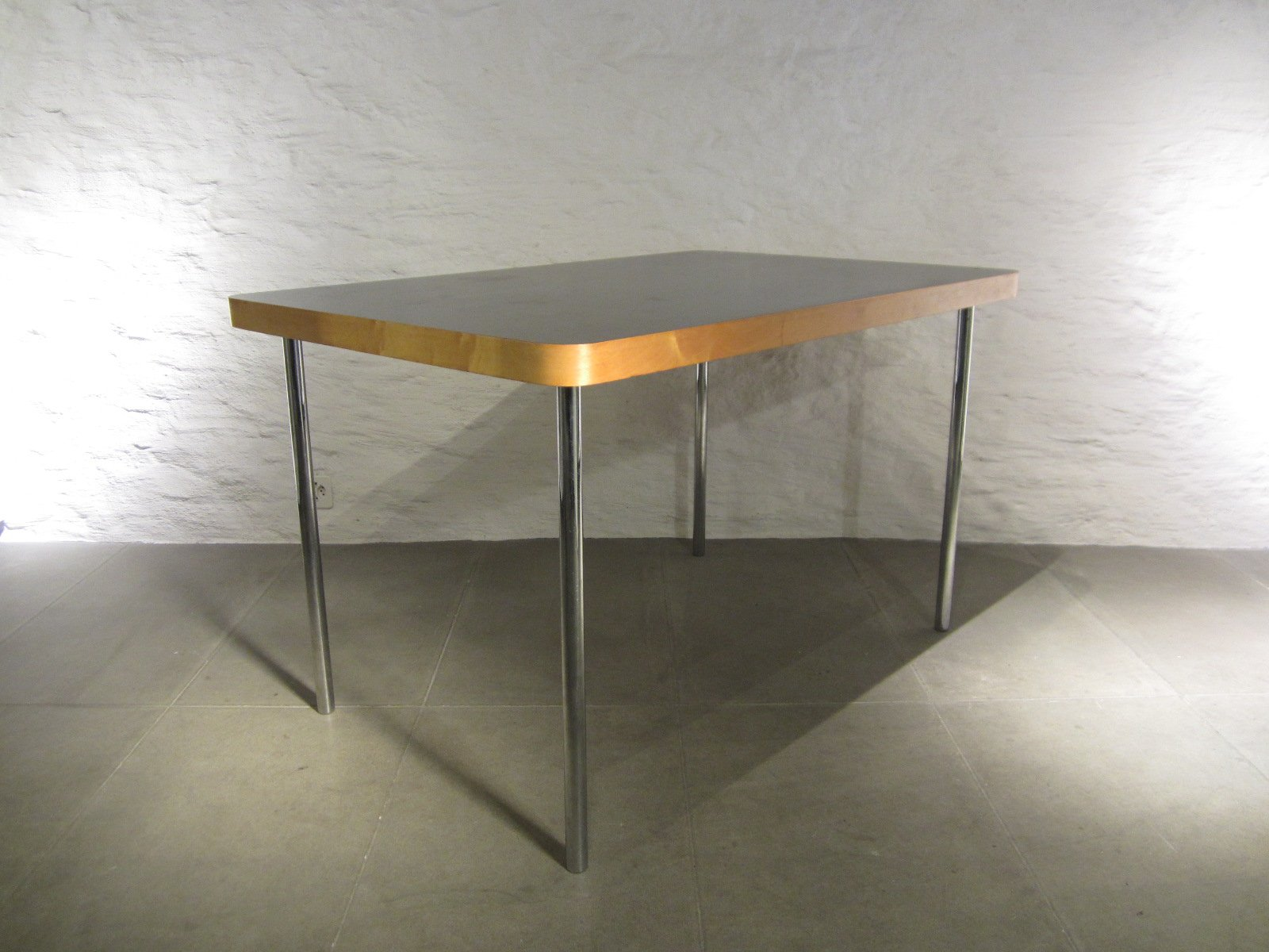 Small Vintage Dining Table by Marcel Breuer for Embru Wohnbedarf