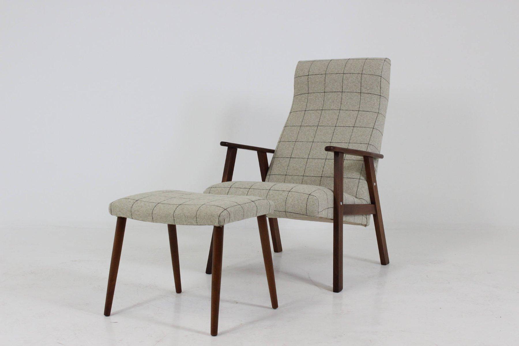 Danish Teak Highback Easy Chair with Stool 1960s & Danish Teak Highback Easy Chair with Stool 1960s for sale at Pamono islam-shia.org