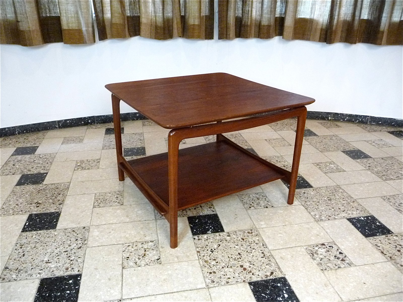 Danish teak coffee table by hvidt mlgaard for france price per piece geotapseo Choice Image