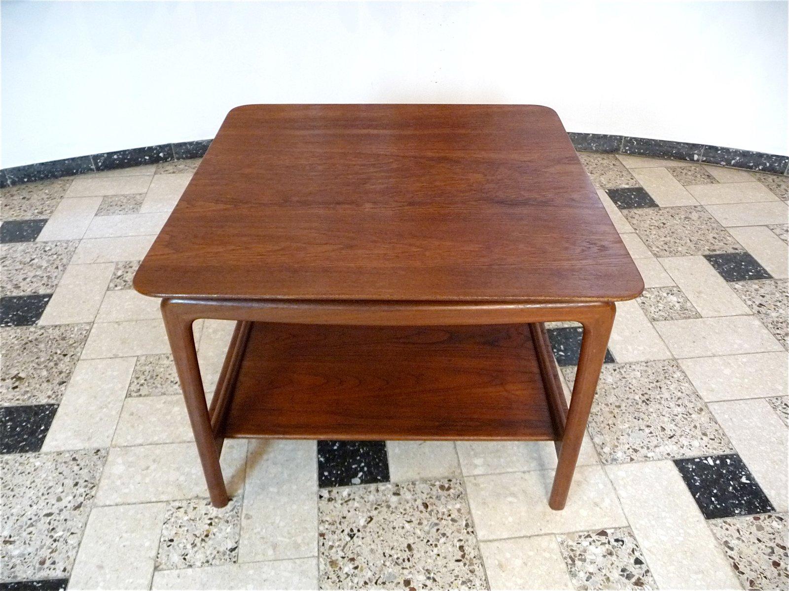 Danish teak coffee table by hvidt mlgaard for france danish teak coffee table by hvidt mlgaard for france daverkosen 1950s geotapseo Choice Image