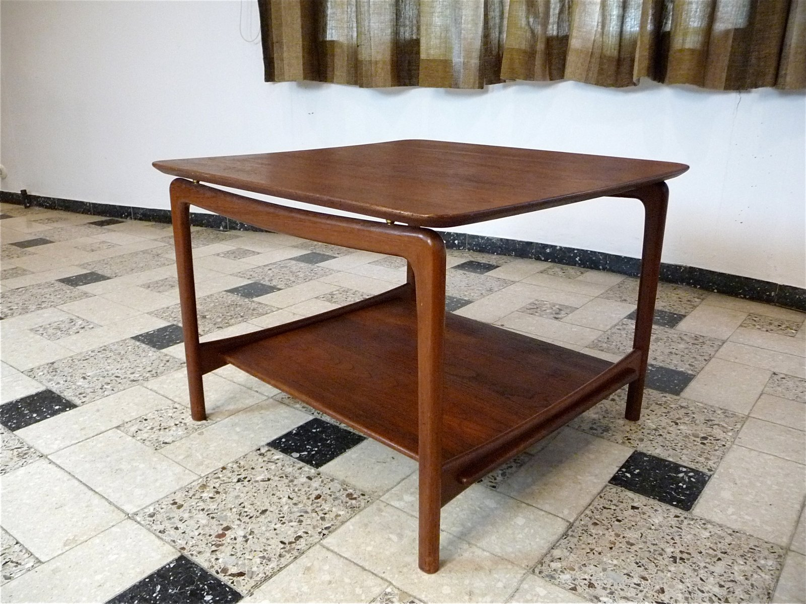 Danish Teak Coffee Table By Hvidt U0026 Mølgaard For France U0026 Daverkosen, 1950s