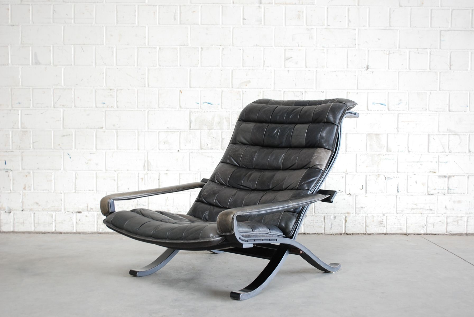 Vintage Flex Lounge Chair by Ingmar Relling for Westnofa for sale at Pa