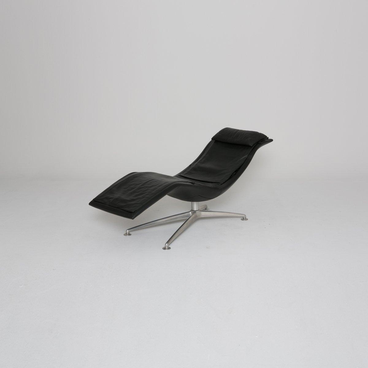 chaise longue larus de poltrona frau 2001 en vente sur pamono. Black Bedroom Furniture Sets. Home Design Ideas